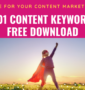 1001 Content Keywords